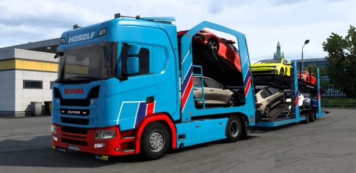 Photo of Scania Cartransporter For Eugene Scania Pack V7.0 ETS2 1.41