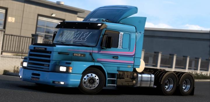 Photo of Scania Series 2 And 3 Megamod V1.1 ETS2 1.40