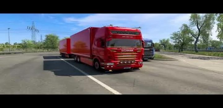 Photo of Scania V8 Philip Judge Open Pipe Sound V2.0 ETS2 1.41