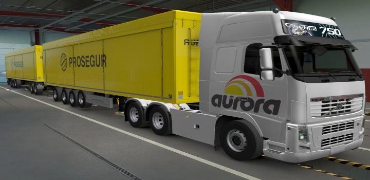 Photo of Volvo Fh16 2009 Aurora Skin ETS2 1.40