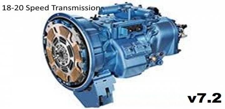 Photo of 18-20 Speed Transmission V7.2 ATS 1.41