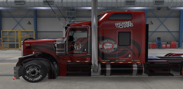 Photo of Baca Paint For Rudas Kw900 V1.0 ETS2 1.41