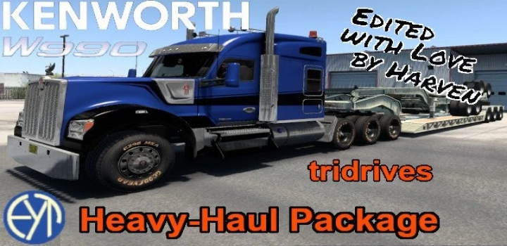 Photo of Kenworth W990 8X Chassis ATS 1.41