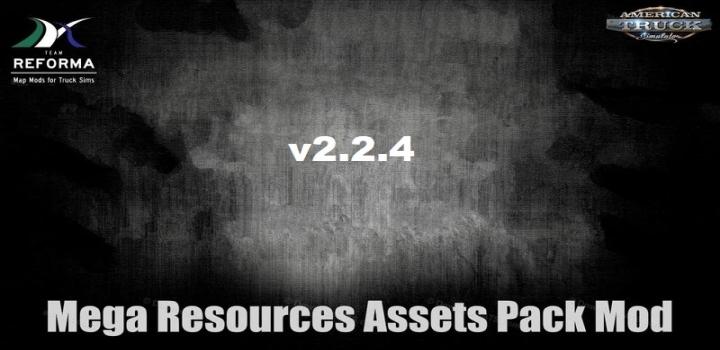 Photo of Mega Resources Mod V2.2.4 ATS 1.41