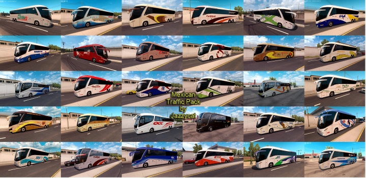 Photo of Mexican Traffic Pack V2.4.1 ATS 1.41