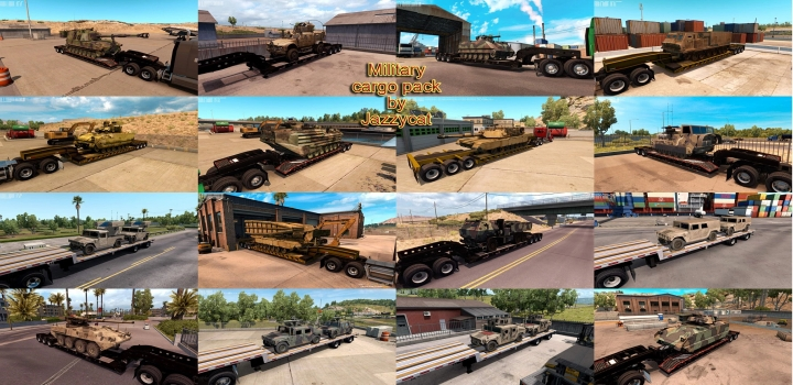 Photo of Military Cargo Pack V1.3.7 ATS 1.41