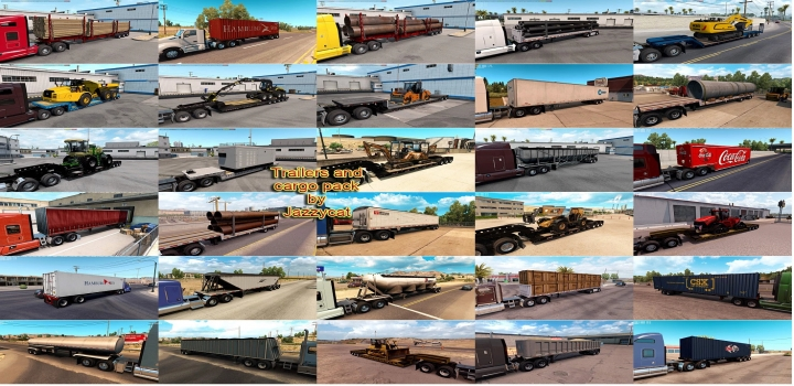 Photo of Trailers And Cargo Pack V4.4.1 ATS 1.41
