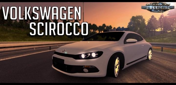 Photo of Volkswagen Scirocco + Interior V1.7 ATS 1.41