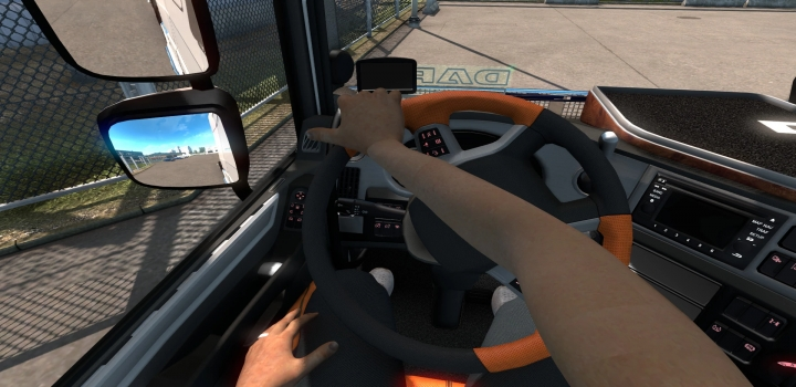 Photo of Animated Hands Without Tattoos V1.11 ETS2 1.41