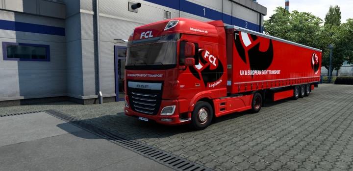Photo of Combo Skin Fcl Event Logistics Ltd V1.0 ETS2 1.40