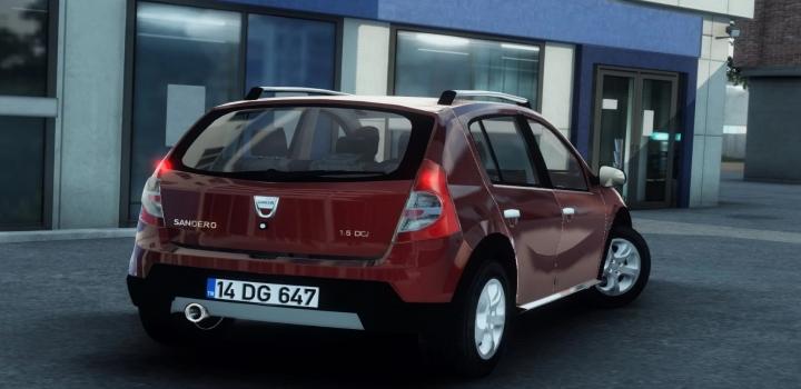 Photo of Dacia Sandero ETS2 1.41