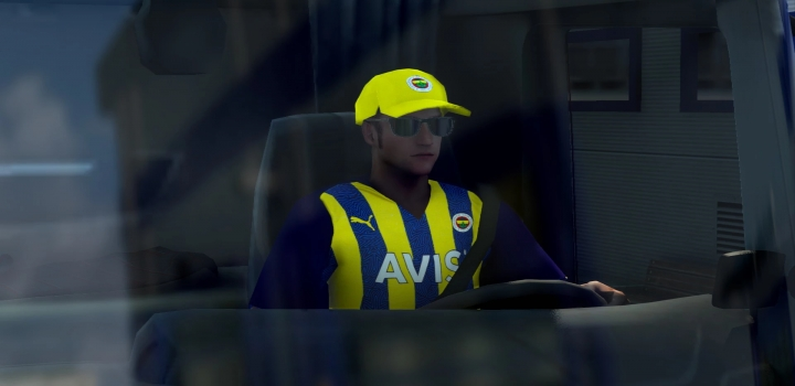 Photo of Fenerbahce 2022 Driver Skin V0.1 ETS2 1.41