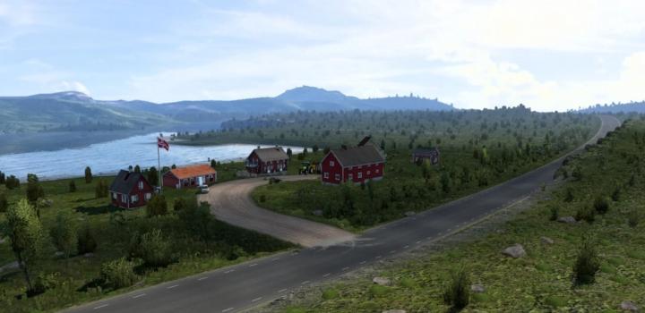 Photo of Finnmark Mod – Nordlysbyen ETS2 1.41