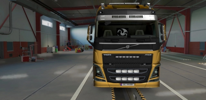 Photo of Front Grill And Low Grill With Light Slots V1.0 ETS2 1.41