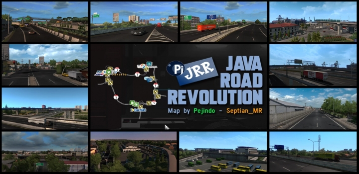 Photo of JRR V0.3 – Indonesia Map ETS2 1.41