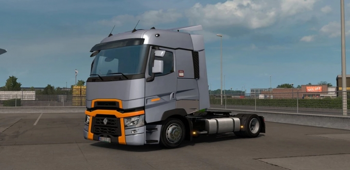 Photo of Low Deck Chassis Addon For Scs Renault Range T & T Evo V1.6 ETS2 1.41