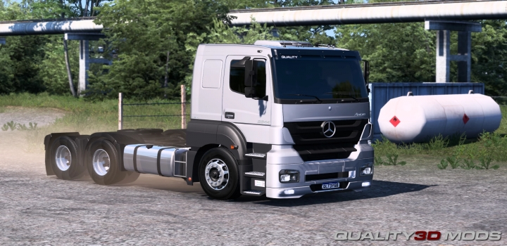 Photo of Mercedes Axor 2644 V2.0 ETS2 1.41