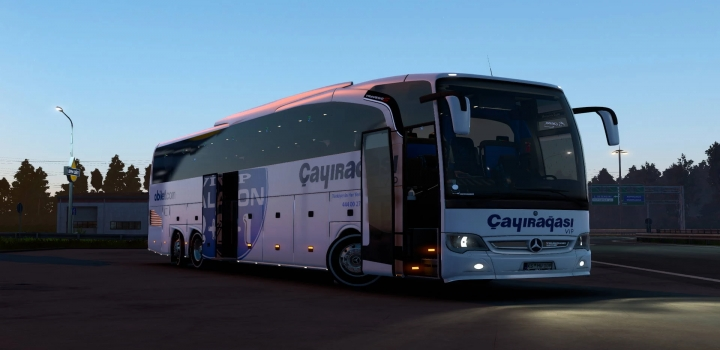 Photo of Mercedes Travego Special Edition 17Shd-2015 Mega Mod Update ETS2 1.41