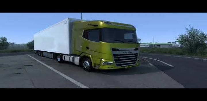 Photo of Paccar Mx-13 Stock Sound For Daf Xf/Xg ETS2 1.41