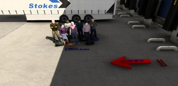 Photo of Passengers Mod ETS2 1.41
