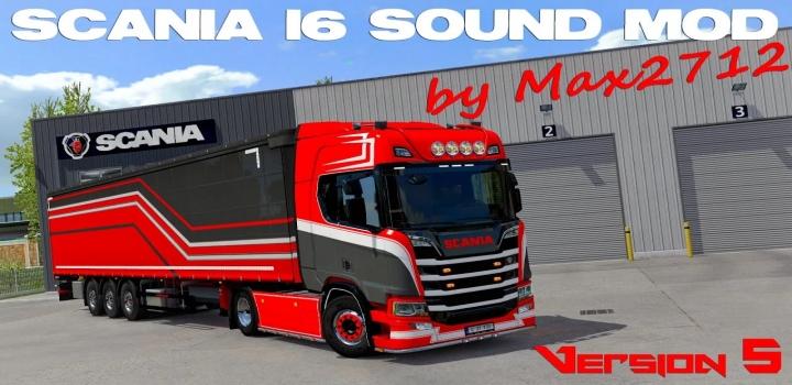 Photo of Scania Nextgen I6 Sound Mod V5.0 ETS2 1.41