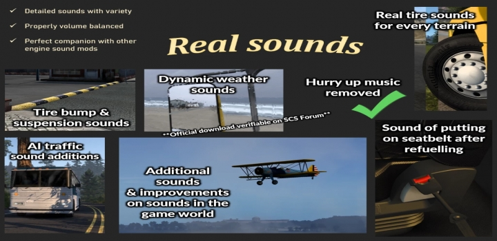 Photo of Sound Fixes Pack V21.46 ETS2 1.41