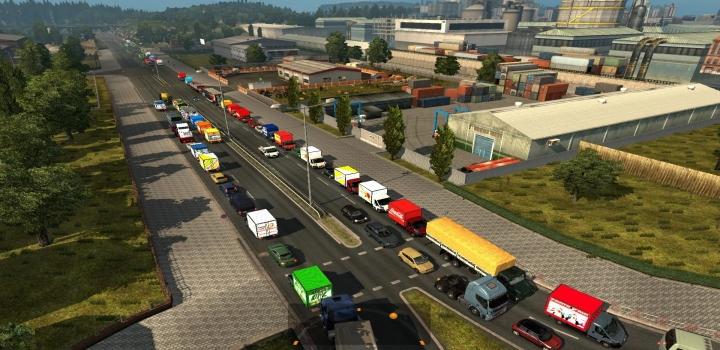 Photo of Traffic Mod V0.1 ETS2 1.41