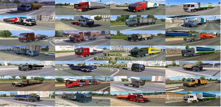 Photo of Truck Traffic Pack V5.6.2 ETS2 1.41