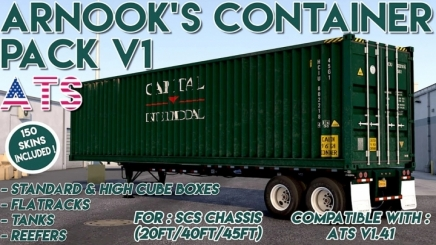 Photo of Container Pack V1.0 ATS (1.41)