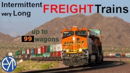Photo of Intermittent Very Long Freight Trains Up To 99 Wagons ATS (1.41)