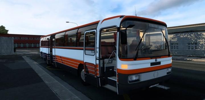 Photo of Mercedes-Benz O303 Bus + Interior V1.0 ATS 1.41