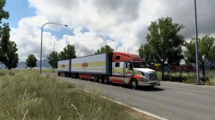 Photo of Scs Truck & Trailer Base Game Company Skins V2.0  ATS (1.41)