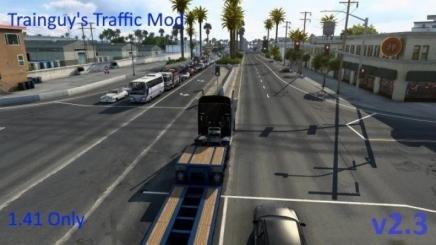 Photo of Traffic Mod V2.3 ATS (1.41)