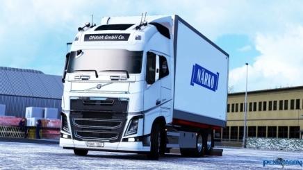 Photo of Kraker/Ntm Tandem Addon For Volvo Fh 2012 V3.4 ETS2 (1.41)