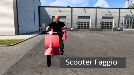 Photo of Scooter Faggio V3.0 ETS2 (1.41)