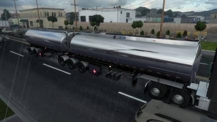 Photo of Advance B-Train Tanker V1.2R +Wheel Particles E.g. ATS (1.42.x)