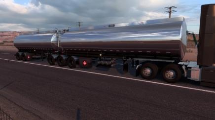 Photo of Advance B-Train Tanker V1.3R +New Companies E.g. ATS (1.42.x)