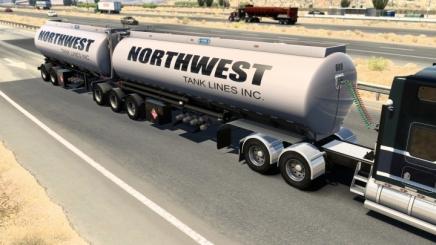 Photo of Advanced B-Train Tanker V1.1R Fixed Weight ATS (1.42.x)