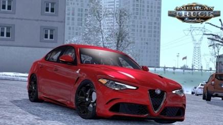 Photo of Alfa Romeo Giulia + Interior V1.7 ATS (1.41.x)