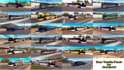 Photo of Bus Traffic Pack V1.4.5 ATS (1.42.x)