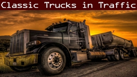 Photo of Classic Truck And Trailer Traffic Pack V2.5.2 ATS (1.42.x)