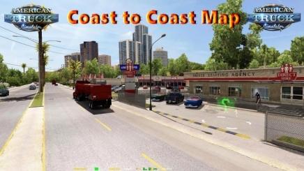 Photo of Coast To Coast Map V2.12.3 ATS (1.42.x)