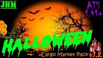 Photo of Halloween Cargo Pack V1.2 ATS (1.42.x)