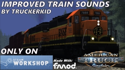 Photo of Improved Train Sounds ATS (1.42.x)