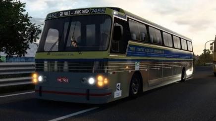 Photo of Scania Cma Comet Flecha Azul Bus V3.3 ATS (1.42.x)