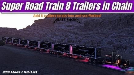 Photo of Super Road Train V1.0 ATS (1.42.x)