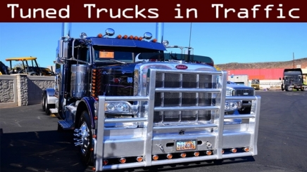 Photo of Tuned Truck Traffic Pack V1.7.2 ATS (1.42.x)