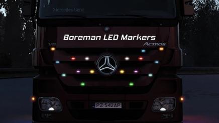 Photo of Boreman Led Marker Lights Pack ETS2 (1.42.x)