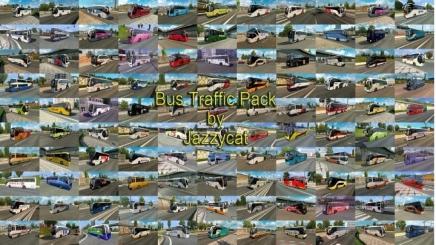 Photo of Bus Traffic Pack V12.6.1 ETS2 (1.42.x)