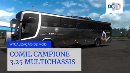 Photo of Comil Capione 3.25 Multichassis ETS2 (1.42.x)
